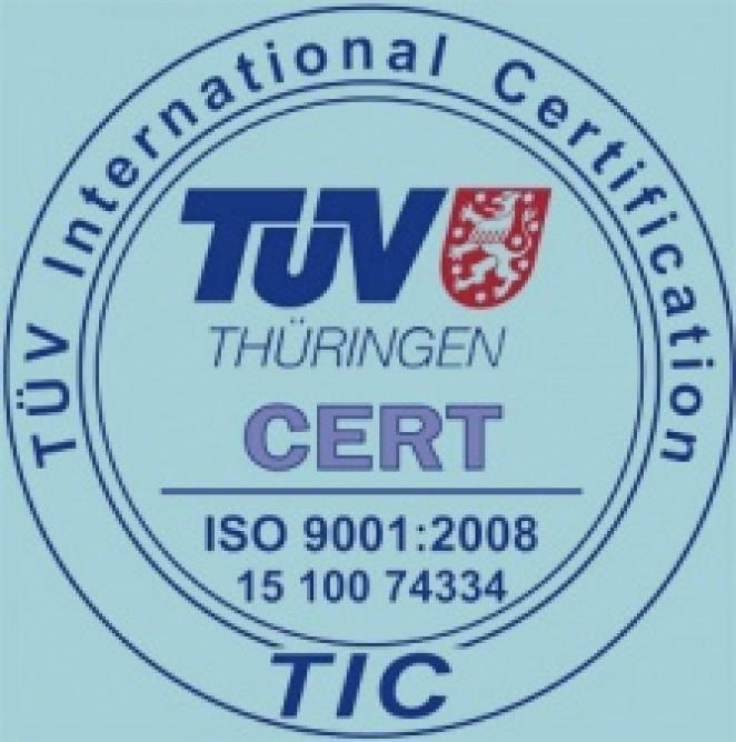 Компания «Русавтолак» получила Сертификат соответствия требованиям международного стандарта ISO 9001:2008 системы менеджмента качества