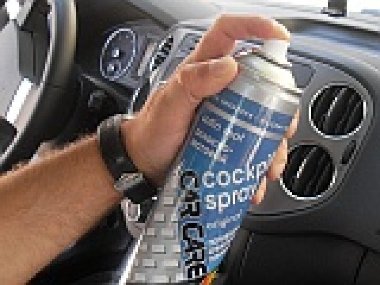 Внимание Новинка! Бессиликоновый Очиститель панели Cockpit Spray!