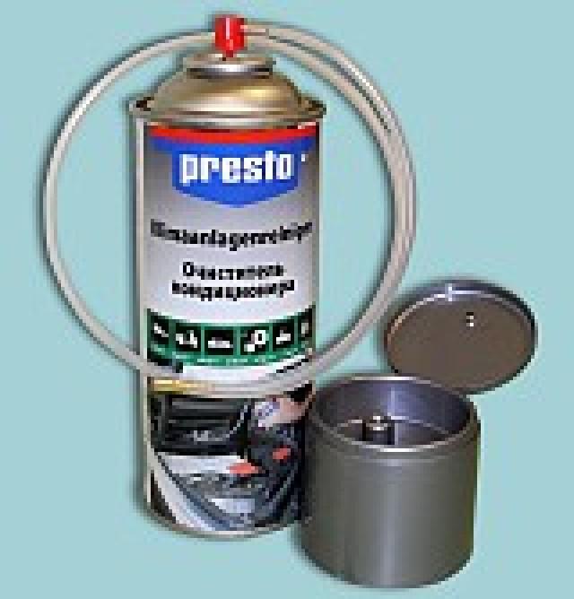 Новинка! Очиститель кондиционера Presto!