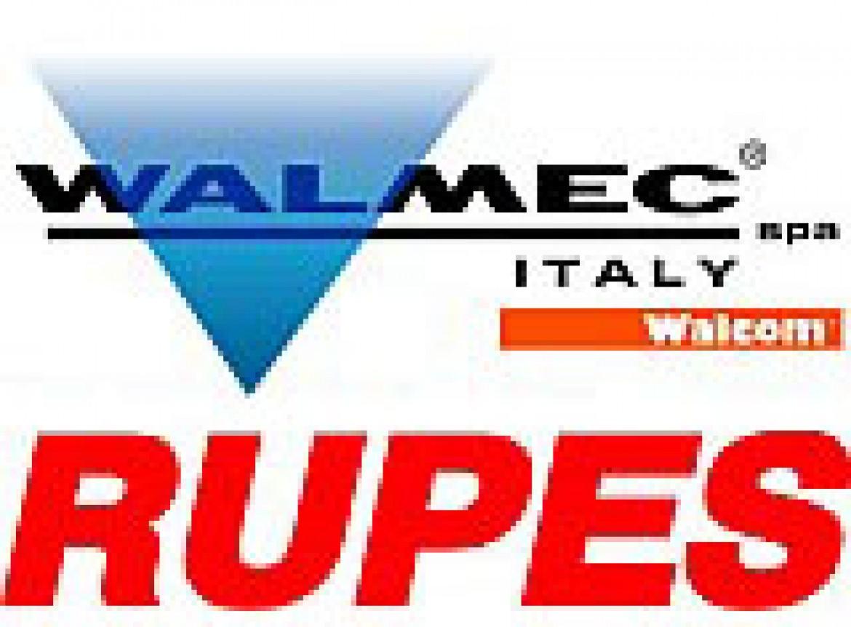 Обновление цен и расширение ассортимента на продукцию производителей «RUPES» и «Walmec s.p.a»!