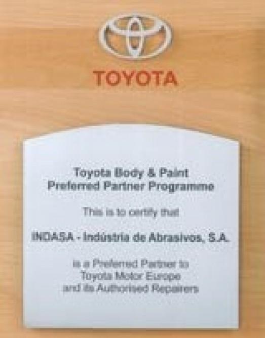 Toyota Motor Europe выбирает INDASA