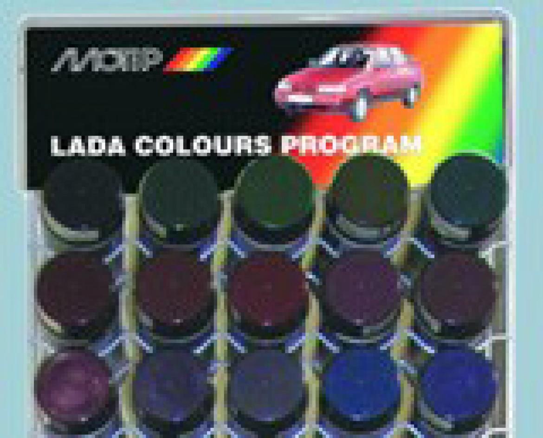 Новые цвета MOTIP. Программа «Лада Плюс»
