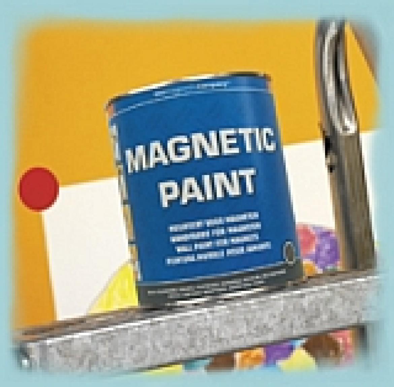 Новинка - краска с магнит-эффектом
