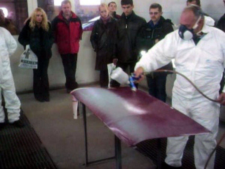 Новосибирск-Омск: Прошел семинар по применению лакокрасочных материалов DeBeer