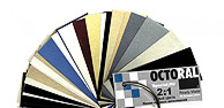 Новый веер с образцами готовых цветов Octoral Special.ru