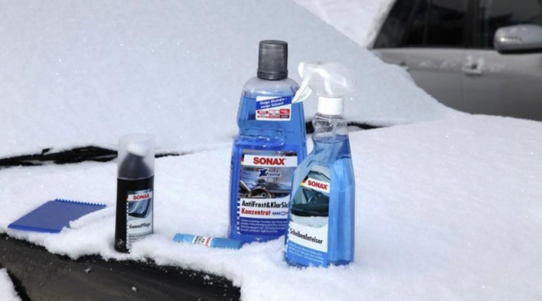 SONAX – Настрой свой автомобиль на зимний режим!