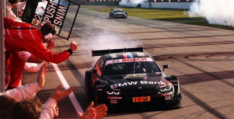 Бруно Шпенглер выиграл звание чемпиона в гонке DTM
