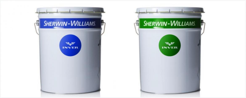 Жидкие промышленные покрытия INVER в новой упаковке