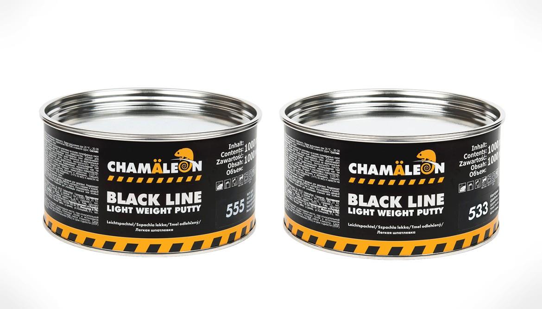 Акция! Дополнительная скидка 7% при заказе шпатлевок Chamaeleon Black line
