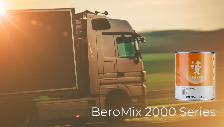 Новая серия 2-х компонентных эмалей BeroMix серия 2000